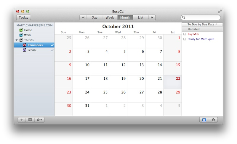 Icloud Calendar.Busymac Blog Icloud Calendars Are Type Specific