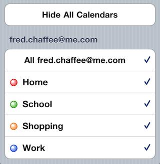Busytodo Filter Calendars