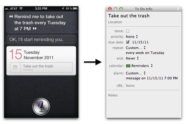Siri Repeating To Dos