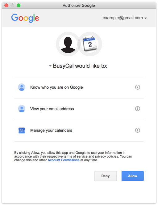 Busycal Mac Using Busycal With Google