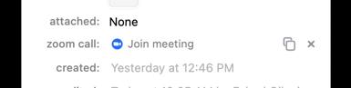 Meeting Created